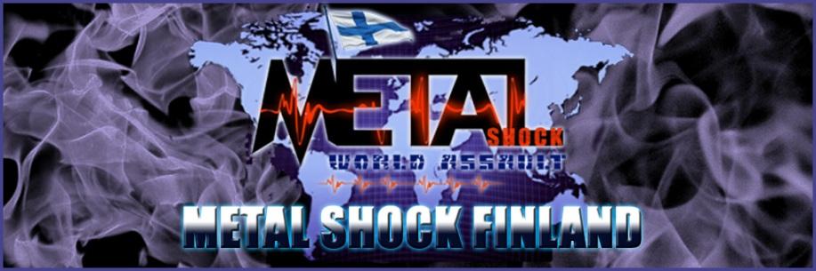 Metal Shock Finland banner - 1024pxl