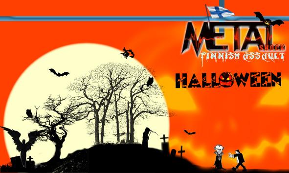 halloween metal: