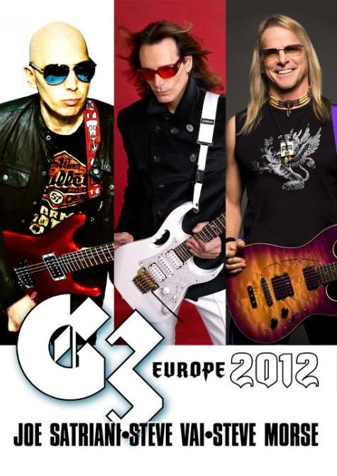 G3: Satriani, Collen & Petrucci Perform Live In Concert Photos and ...