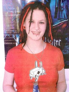 Sophie Lancaster was attacked in a park in Bacup, Lancashire, in 2007