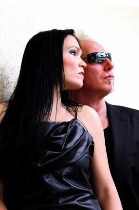 Tarja Turunen and Mike Terrana