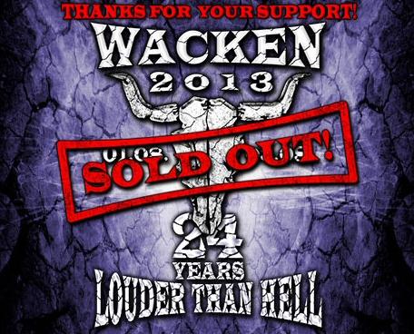 Wacken2013soldout