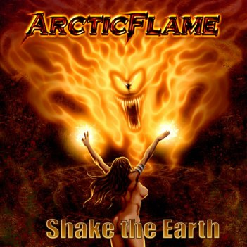 Arctic Flame Shake The Earth Cover