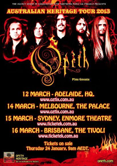 OpethAustralia