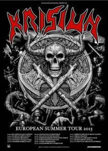 KRISIUN - europe tour 2013