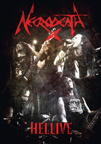 NECRODEATH COVER DVD