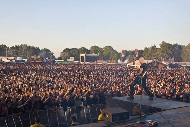 ACCEPT At Sweden Rock Festival 2013