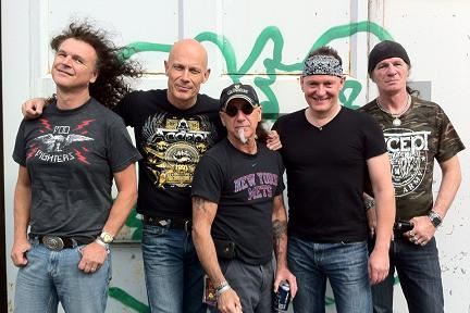 ACCEPT before SHOW at SWEDEN ROCK