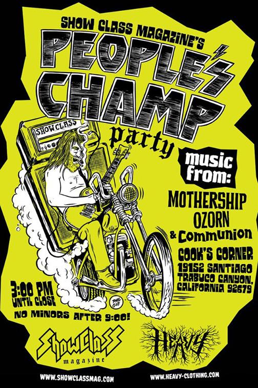 Mothership tour 2013