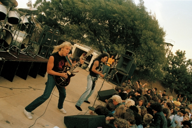 Slayer, Aquatic Park, Berkeley, California, August 19, 1984