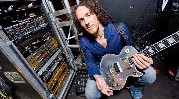 Def Leppard Guitarist Shoot