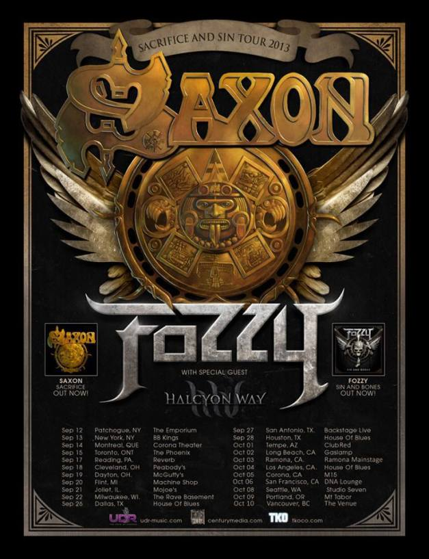 SAXON and FOZZY
