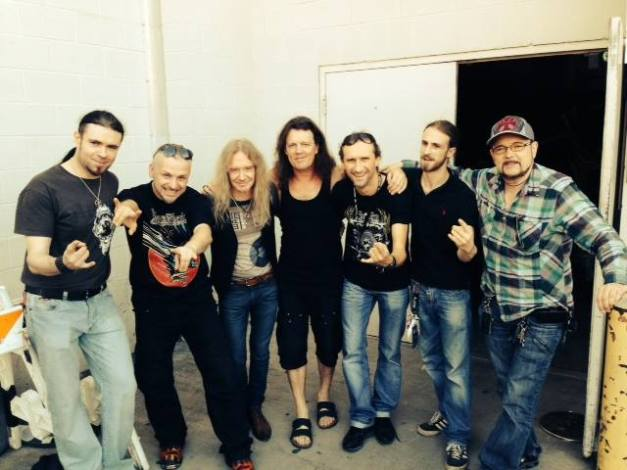 Vader with Saxon in Dallas