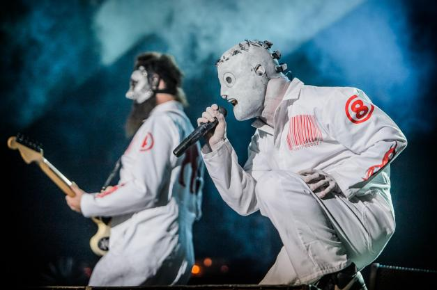 Slipknot at Monsters of Rock 2013 in Brazil