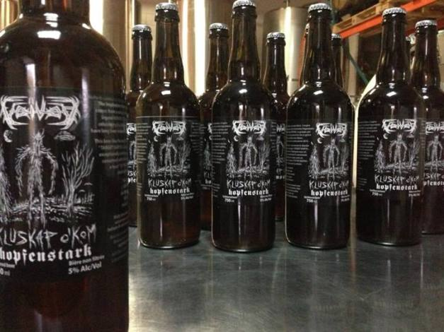 Bière et Hard Rock Voivodbeer
