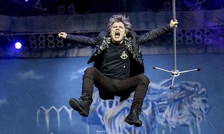 Iron Maiden turn metal into gold