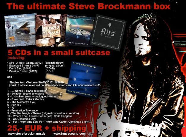 Steve Brockmann Boxset