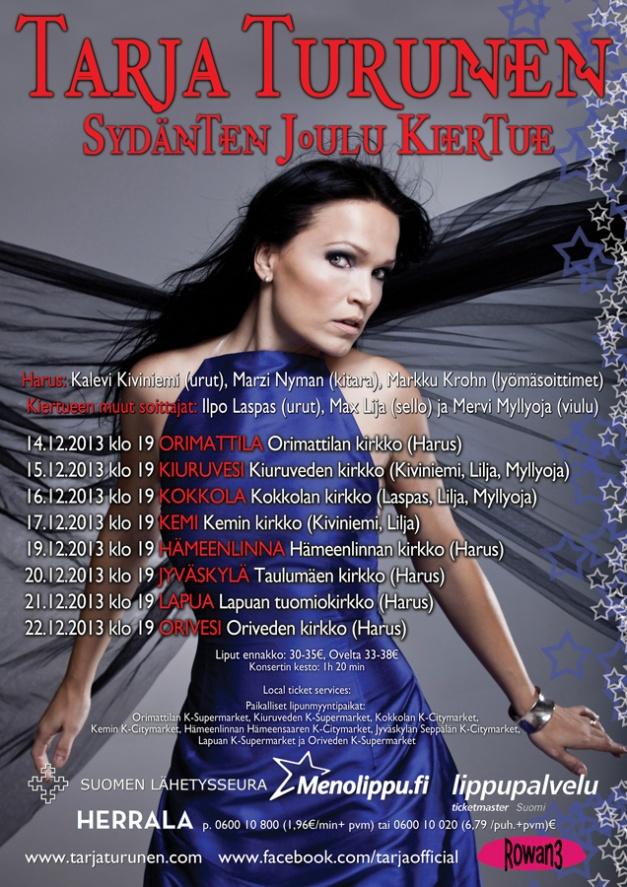 TarjaTurunen_xmas2013-poster