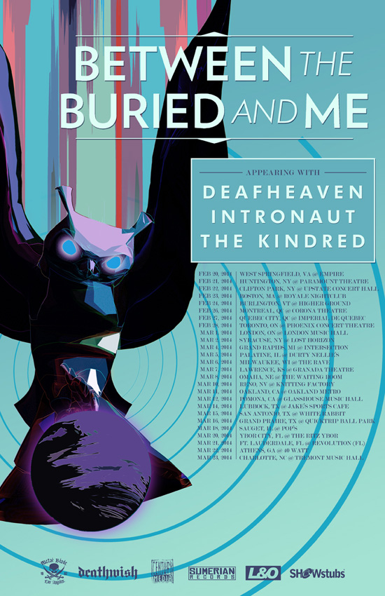 BetweenTheBuriedAndMe-Spring2014