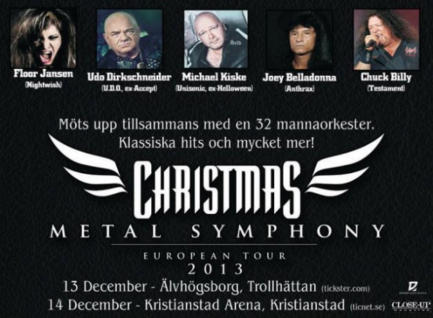 christmasmetalsymphonyswedenposter