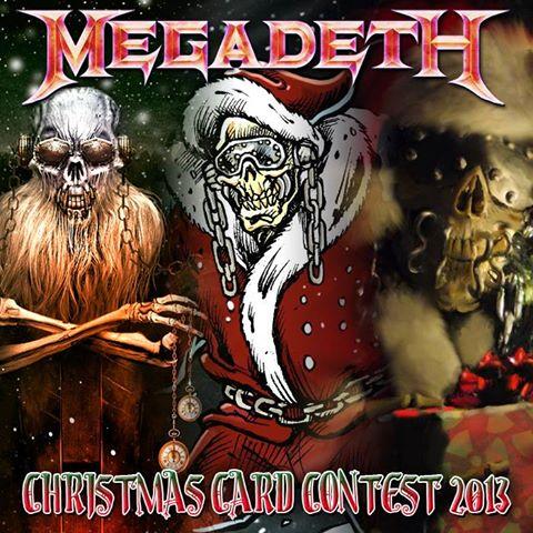 MegadethChristmasCardContest