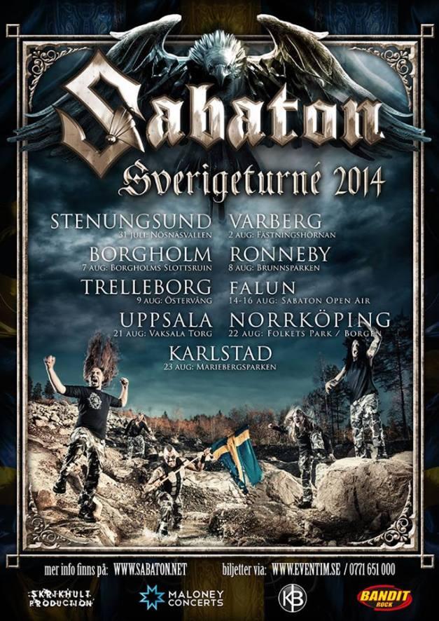 SabatonSwedenTour