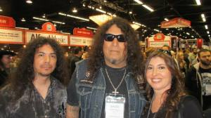 Bobby, Chuck Billy, TESTAMENT, and Sandy