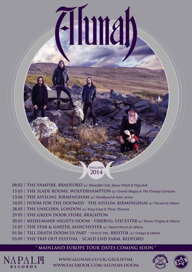 Alunah_UK dates