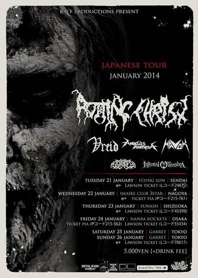 ANGELUS APATRIDA tour dates