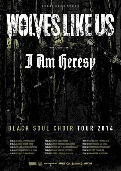 BLACK SOUL CHOIR TOUR 2014
