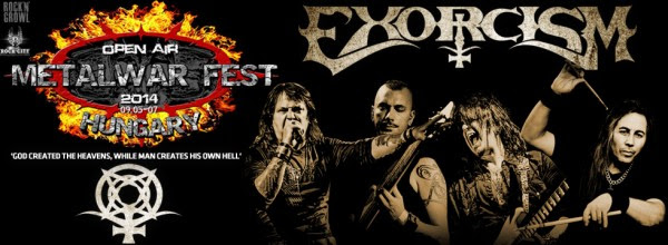 Exorcism Metal War Fest