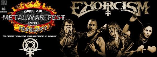 Exorcism Metal War Fest