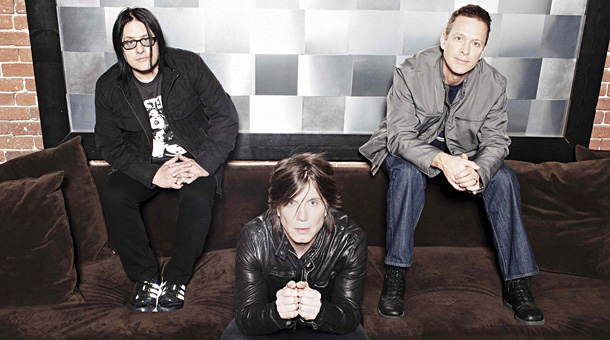 Separate ways: Malinin, right, with the Goo Goo Dolls