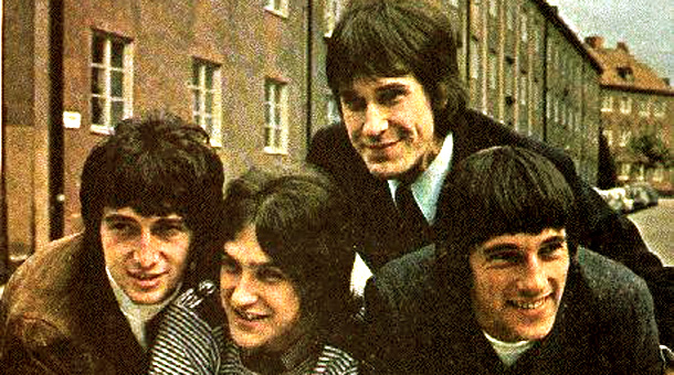 The originals: Pete Quaife, Dave Davies, Ray Davies and Mick Avory