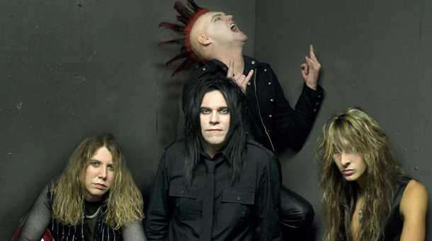 Moving on: Lorina, right, with Lizzy Borden