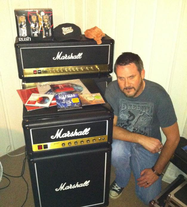 Rush Marshall Fridge contest winner Benny Bodine