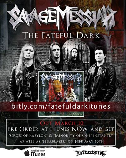 Savage Messiah The Fateful Dark