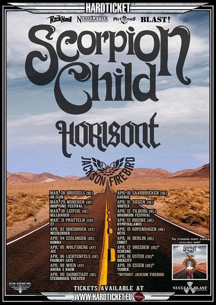 Scorpion Child - Tourflyer 2014