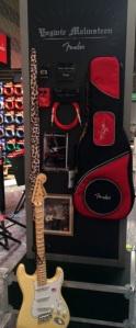 Yngwie Malmsteen and Fender