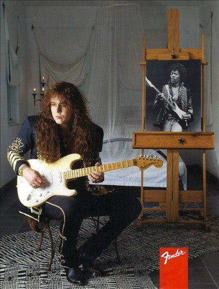 Yngwie Malmsteen and Fender2