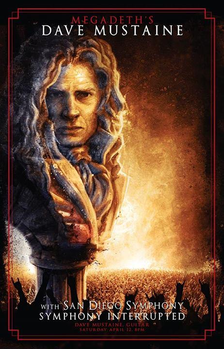 Dave Mustaine San Diego Symphony