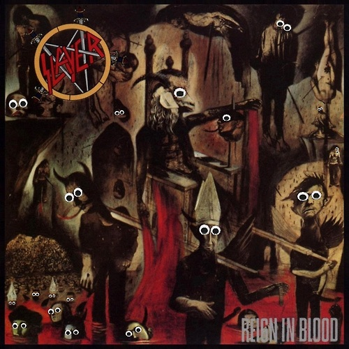 Googly eyes metal albums