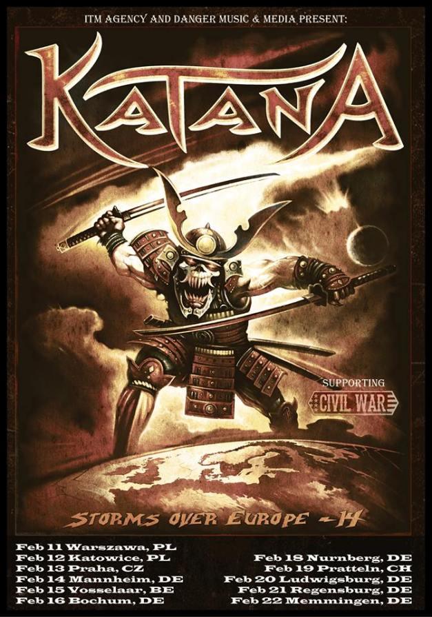 Katana-tour-poster