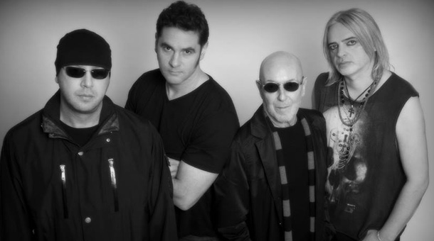 New lineup: Lee Agnew, Osborne, Pete Agnew and Jimmy Murrison