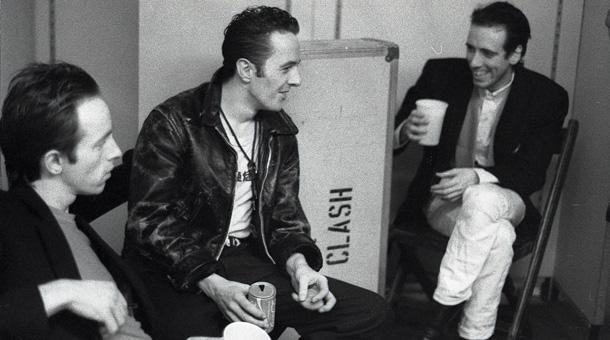 Back in time: Headon, Strummer and Jones in Germany in 1981