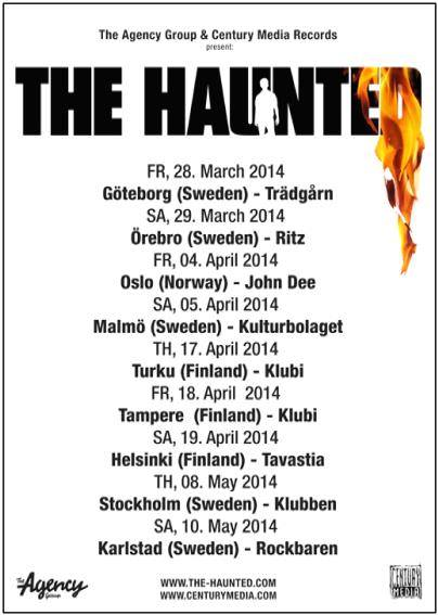 TheHaunted-tourposter