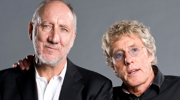 Looking back: Daltrey and Townshend