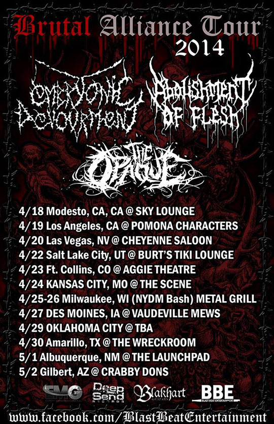 Brutal Alliance Tour