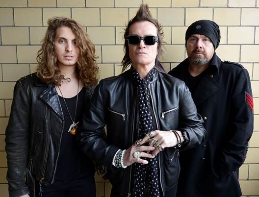 CALIFORNIA BREED (L-R): Andrew Watt, Glenn Hughes and Jason Bonham. Photo credit: Austyn Blaine