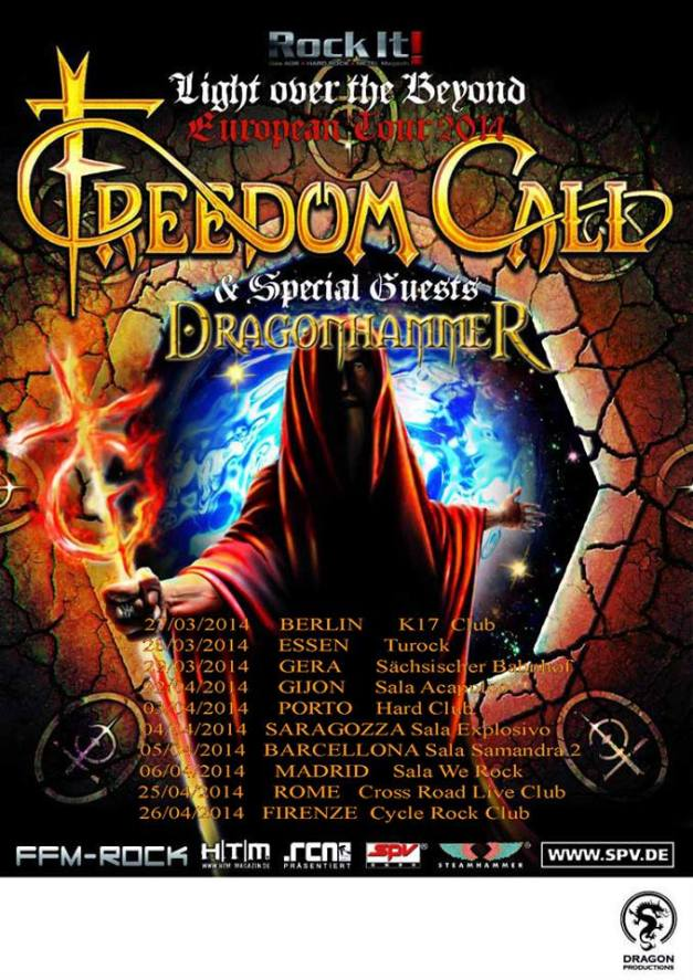 DragonHammer-FreedomCall-flyer